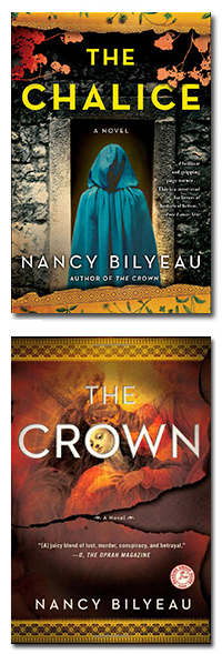 THE CHALICE and THE CROWN by Nancy Bilyeau