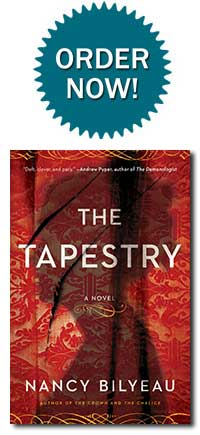 Order Nancy Bilyeau's THE TAPESTRY!